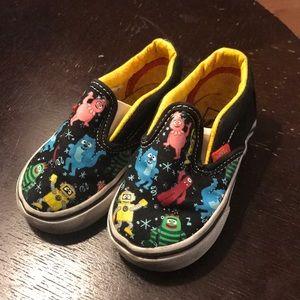 39c5b81e61a12d Vans. Vans Toddler Yo Gabba Gabba Shoes